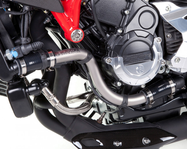 MotoCorse MV Agusta Brutale Dragster 800 Titanium Radiator Pipe Kit