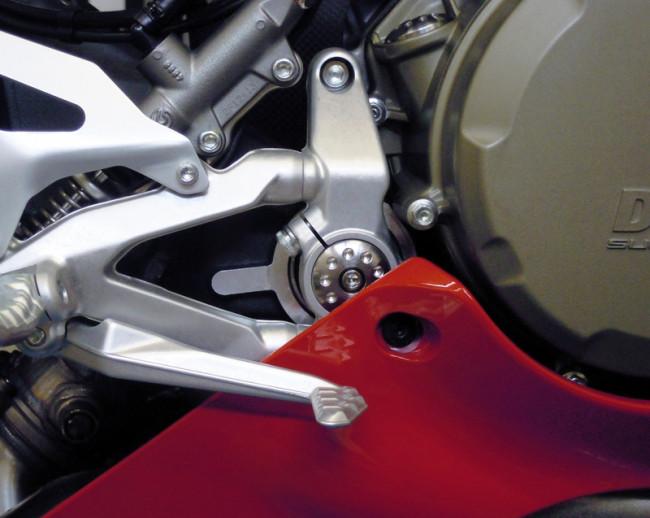 MotoCorse Ducati 1199 1299 Panigale Frame Plug Cap Kit - Titanium