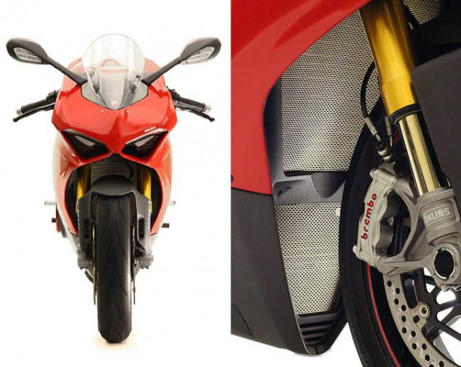 MotoCorse Ducati Panigale V4 / Streetfighter V4 Titanium Lower Oil Radiator Guard