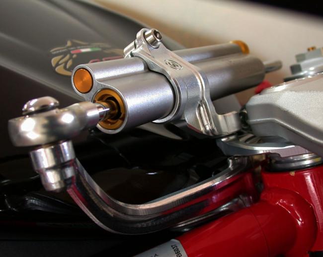MotoCorse MV Agusta F3 675 / 800 Ohlins Steering Damper Kit