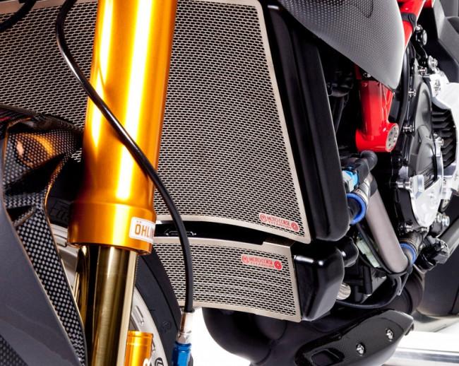 MotoCorse MV Agusta Titanium Upper Radiator Guard