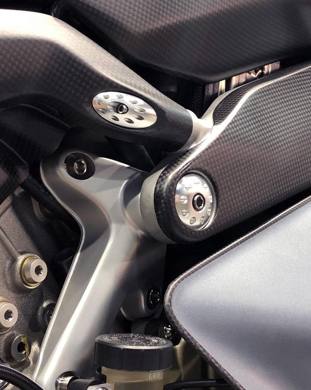 MotoCorse Ducati Panigale V4 Frame Plug Caps