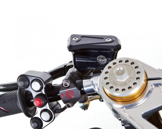 MotoCorse Ducati Brembo Racing Radial Integrated Brake Clutch Reservoir Tanks