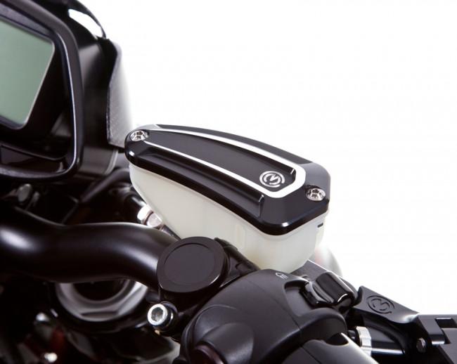 MotoCorse MV Agusta OEM Nissin Brake + Clutch Reservoir Caps