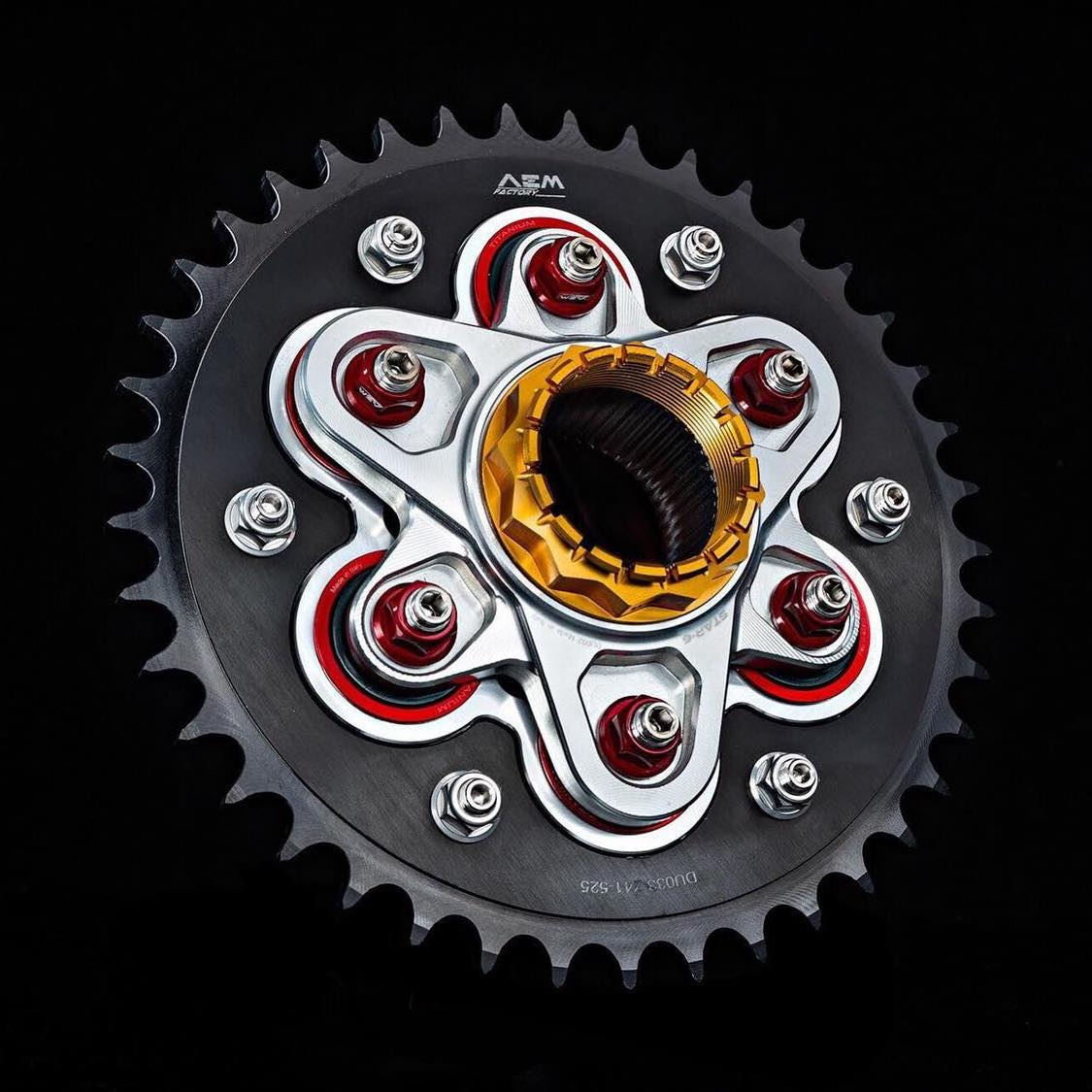 AEM Factory Ducati Sprocket Carrier Flange 'Star-6'
