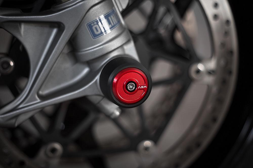 AEM Factory Ducati 848/1098/1198 Front Fork Wheel Slider Bobbins