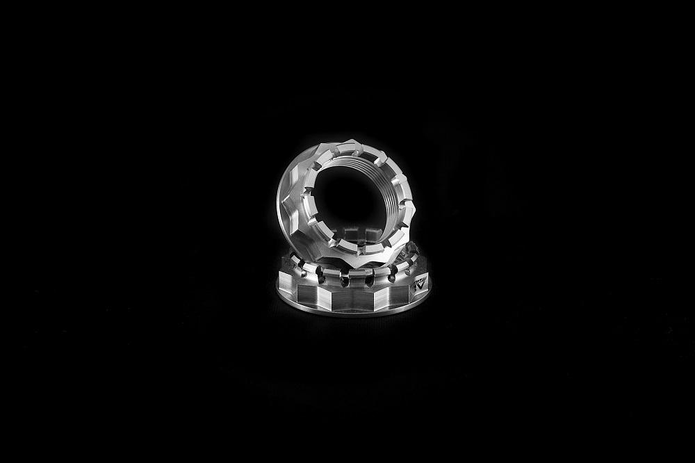 AEM Factory Ducati Panigale V4 Sprocket Nut Titanium