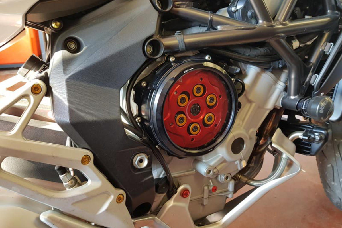 CNC Racing MV Agusta Brutale Dragster Stradale Turismo Veloce Clear Clutch Cover