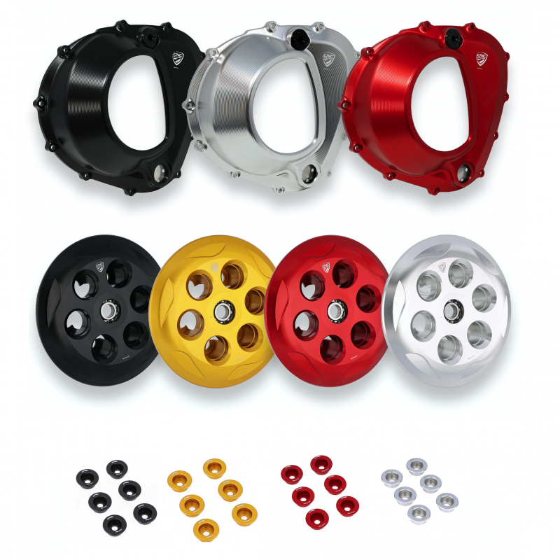 CNC Racing MV Agusta Brutale F4 Clear Clutch Cover Kit