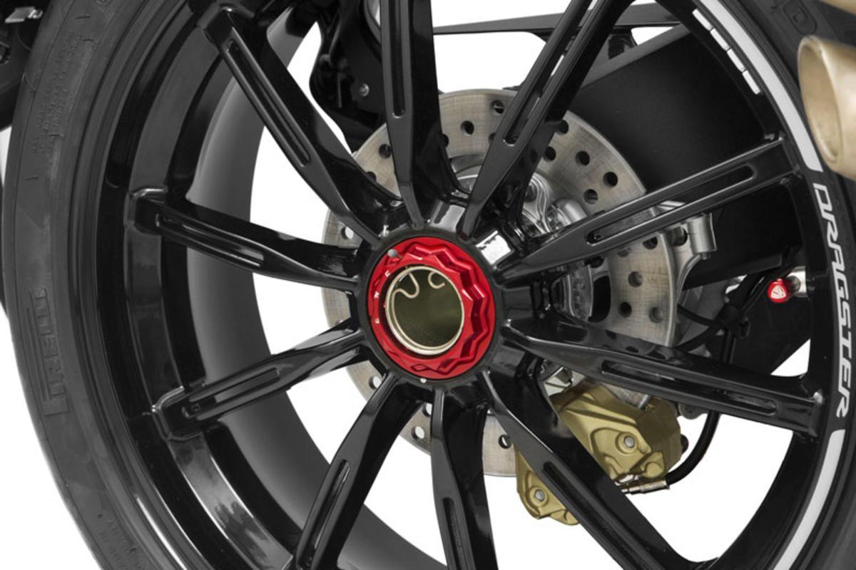 CNC Racing MV Agusta Rear Sprocket + Wheel Nuts