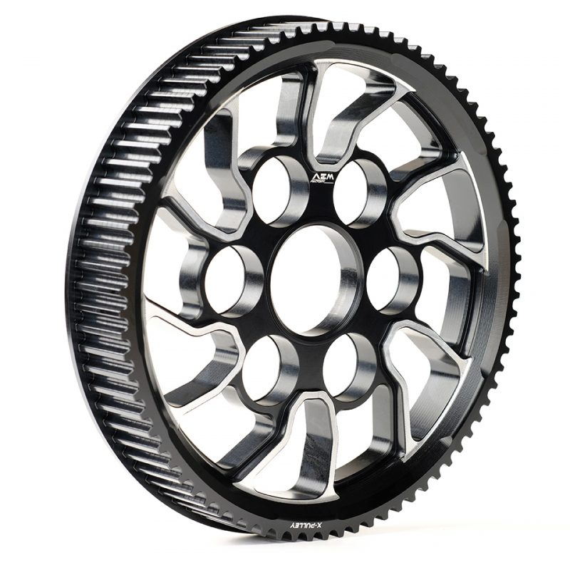 "AEM Factory Ducati XDiavel Rear Wheel Belt Pulley ""X-Pulley"""