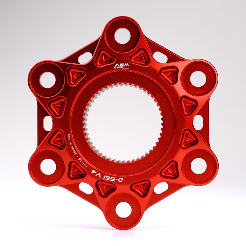 AEM Factory Ducati Rear Sprocket Flange D-SEI V4