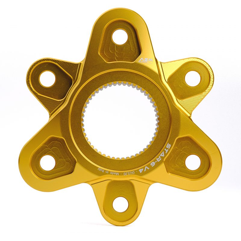 AEM Factory Ducati V4 Rear Sprocket Flange Star 6
