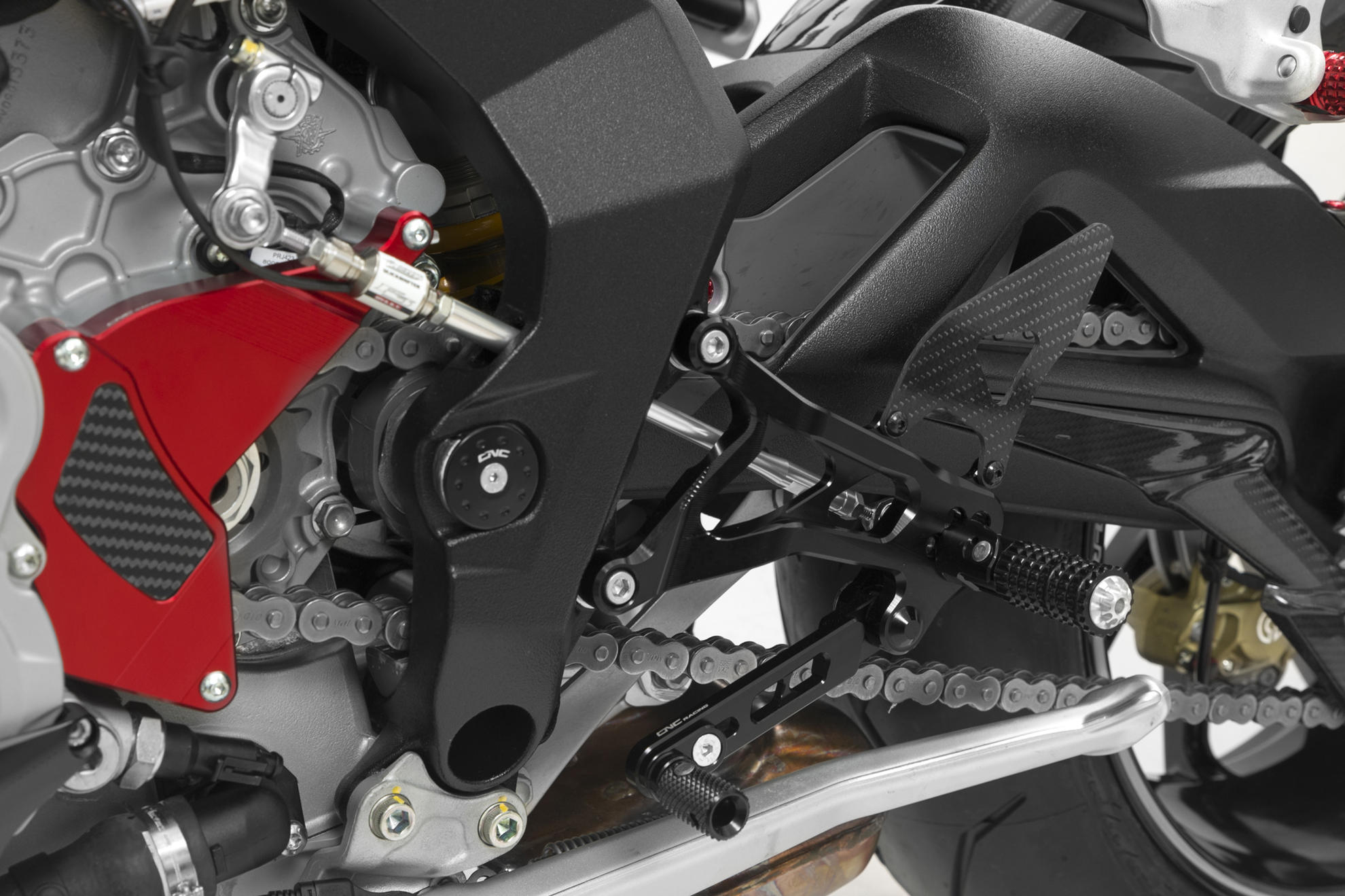 CNC Racing MV Agusta Brutale Dragster F3 Adjustable Rearsets