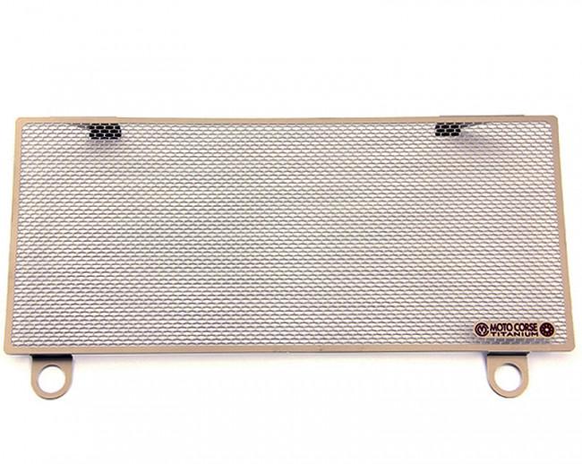 MotoCorse Ducati 899 959 1199 1299 Panigale titanium upper water radiator protection