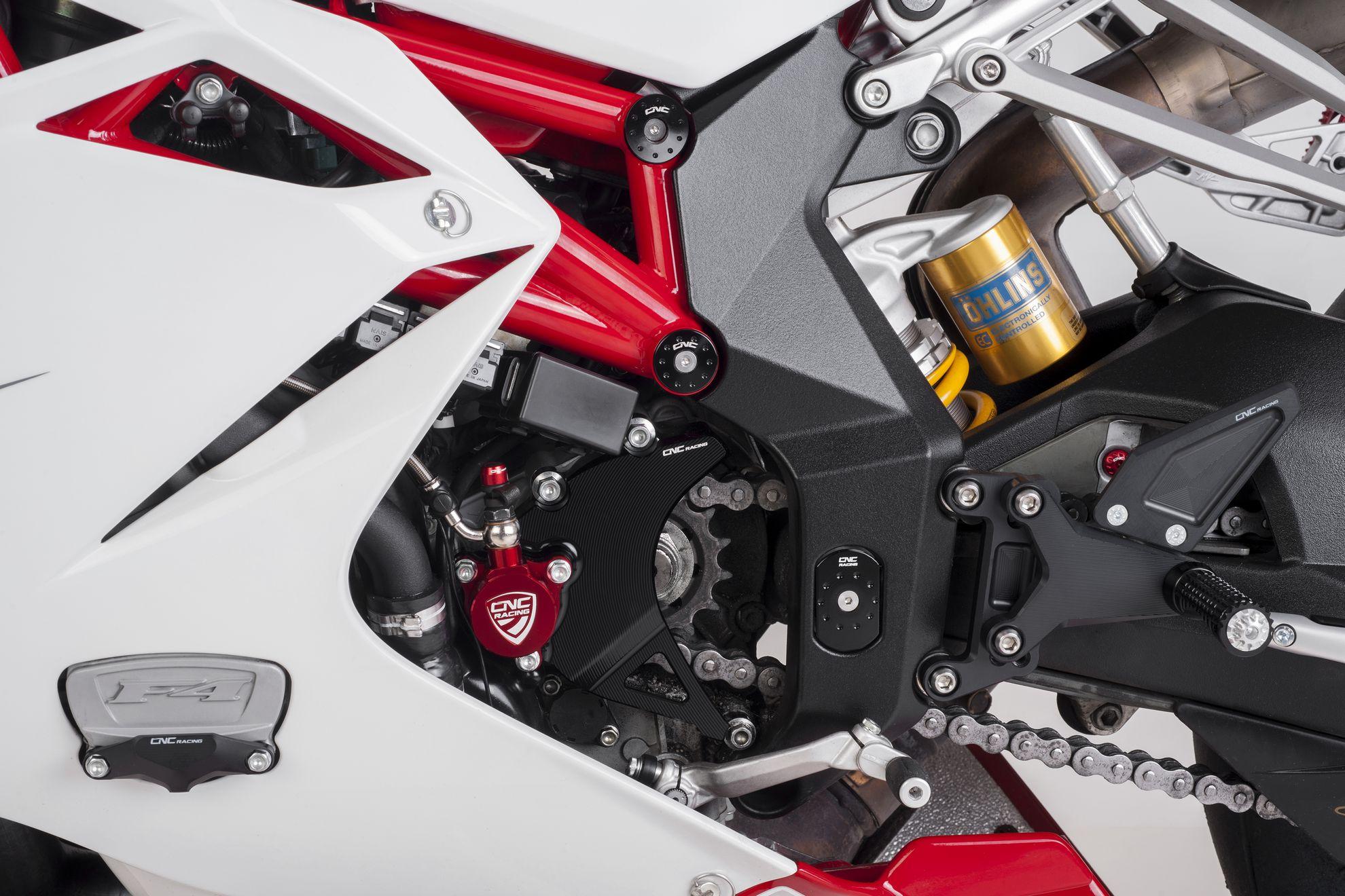 CNC Racing MV Agusta F4 Frame Cap Plugs 2010+