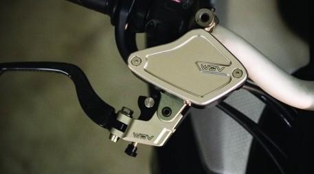 AEM Factory Ducati Diavel XDiavel Fluid Reservoir Tank Caps