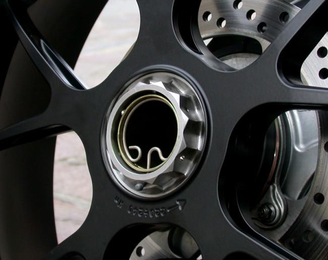 MotoCorse MV Agusta Titanium Rear Wheel Nut