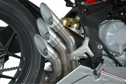 QD Exhaust MV Agusta F3 675 - 800 Power Gun Silencers