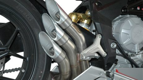 QD Exhaust MV Agusta F3 675 - 800 Power Gun Silencers
