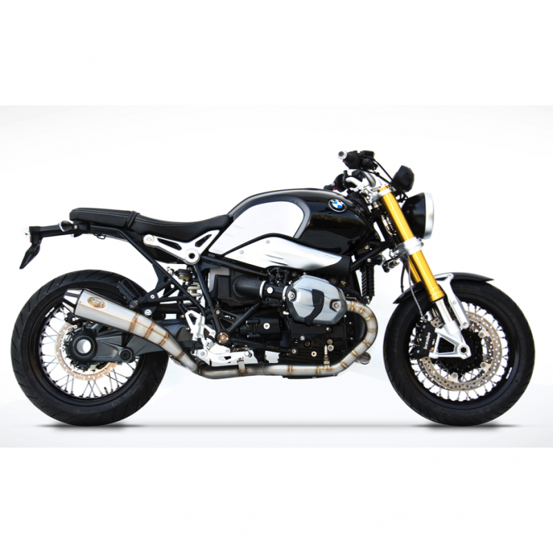 Zard Exhaust BMW R Nine T Conical Silencers 2014-2016