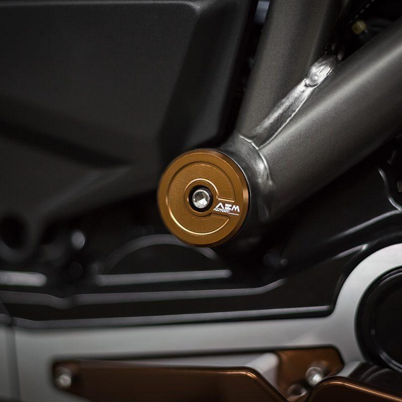 AEM Factory Ducati XDiavel Frame Plug Caps