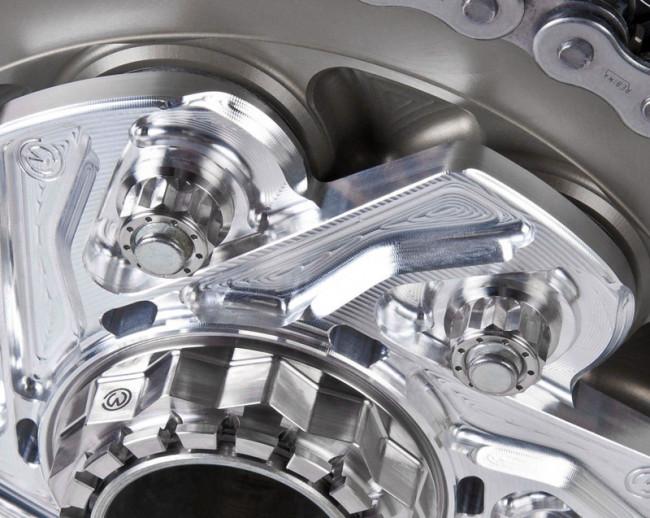 MotoCorse Ducati Titanium Rear Sprocket Nut