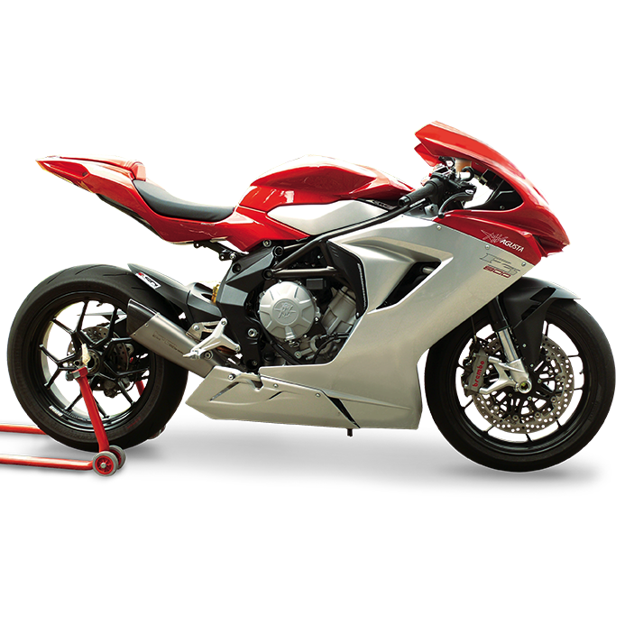 HP Corse Exhaust MV Agusta F3 EvoXtreme 310 Low Position
