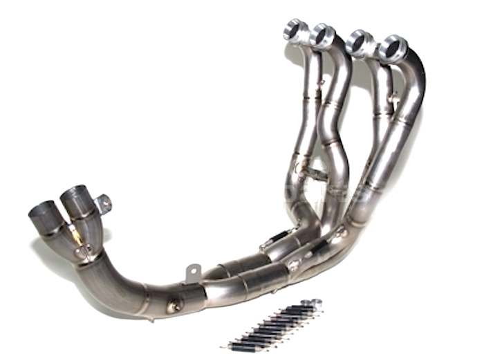 Bodis Exhaust MV Agusta F4/R/RR Titanium Racing Headers Manifold + De-CAT 2004-09