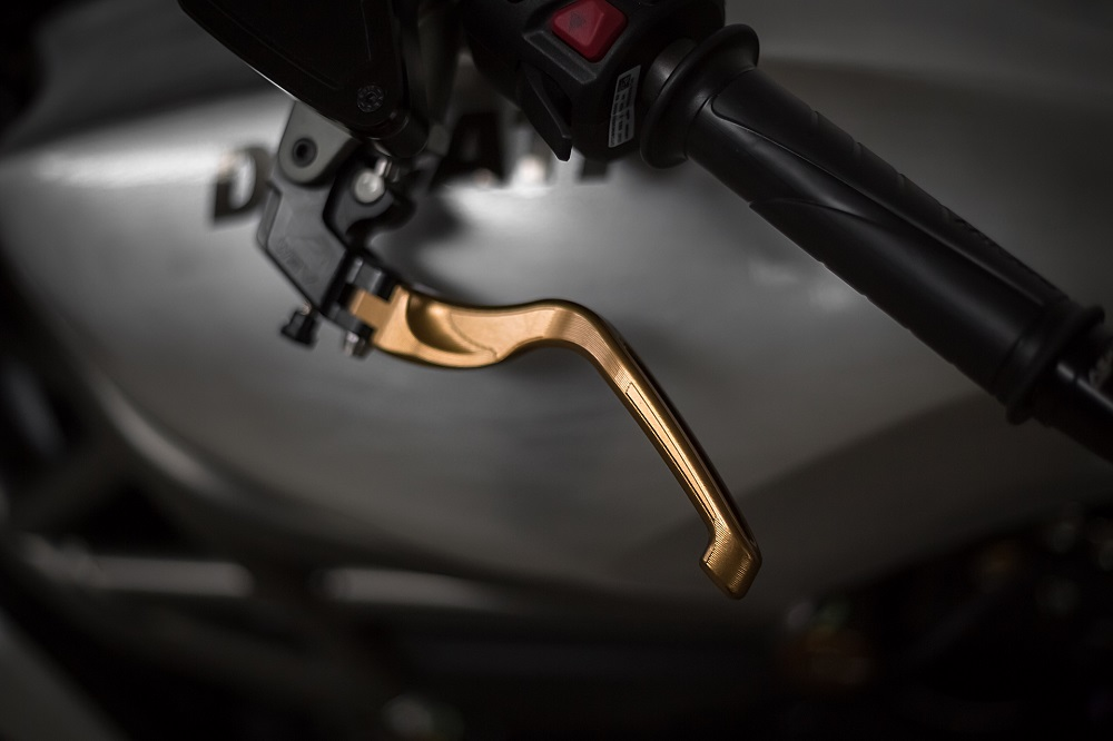 AEM Factory Ducati Panigale V4 Brake + Clutch Levers 'Alu-Touch'