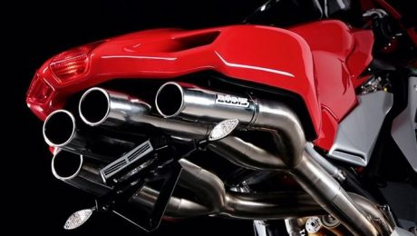 Bodis Exhaust MV Agusta F4/R/RR Quattro FR Racing 2004-2009