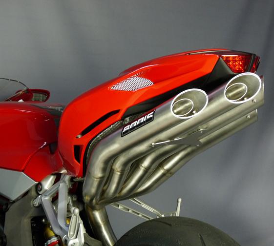 Bodis Exhaust MV Agusta F4/R/RR Quattro FSR Racing Titanium Silencers 2010+
