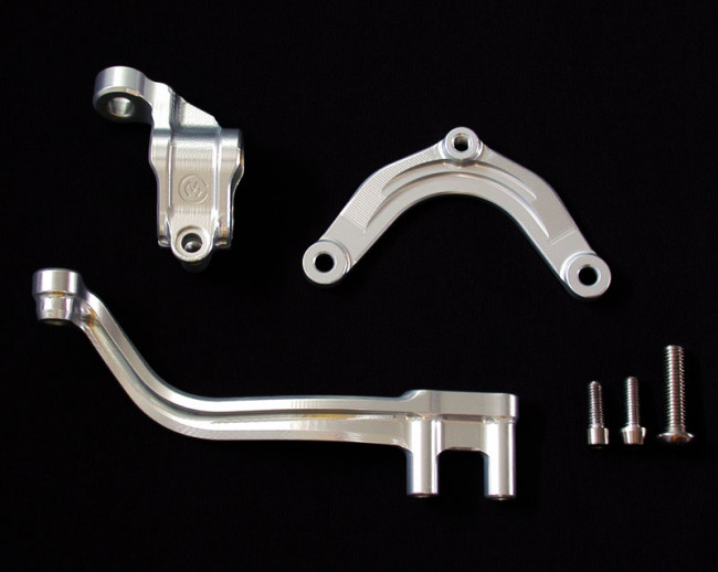 MotoCorse MV Agusta F3 675 / 800 Ohlins Steering Damper Brackets (Ohlins NOT included)