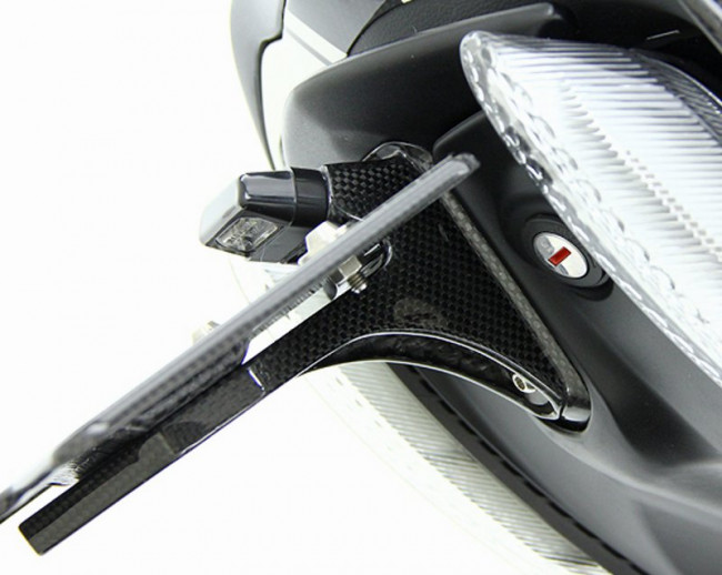 MotoCorse Ducati Diavel Carbon Fibre Tail Tidy Plate Holder