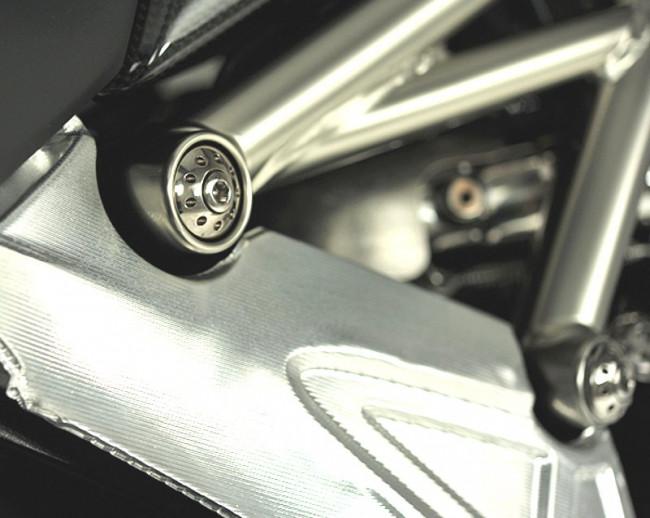 MotoCorse Ducati Diavel Frame Plug Caps