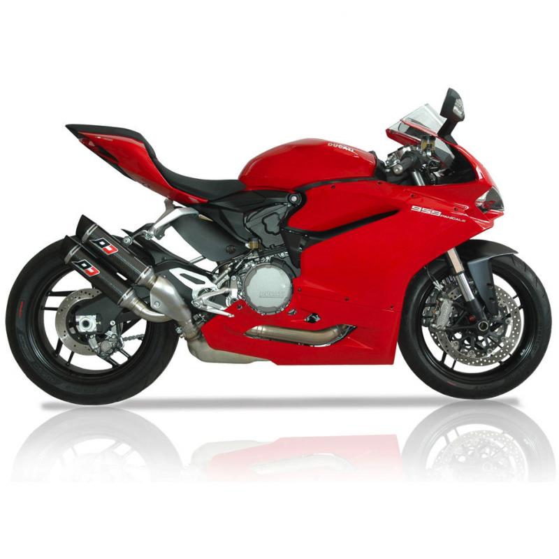 QD Exhaust Ducati 959 Panigale Magnum Carbon Silencers
