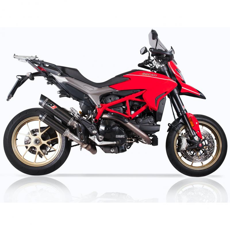 QD Exhaust Ducati Hypermotard 939 Twin Magnum Slip-On Silencers Euro4