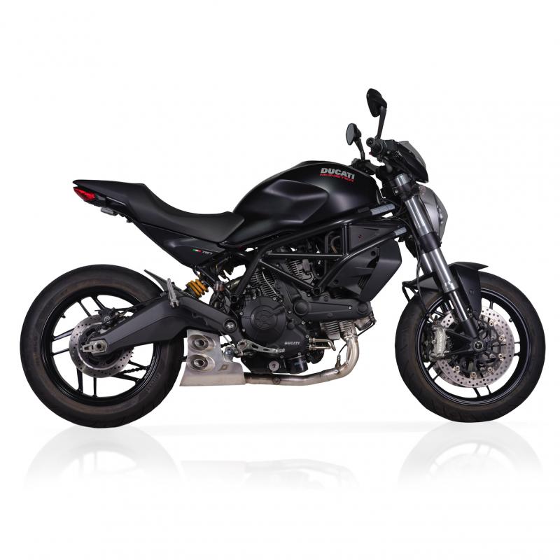QD Exhaust Ducati Monster 797 Ex-Box Evo2 Full System