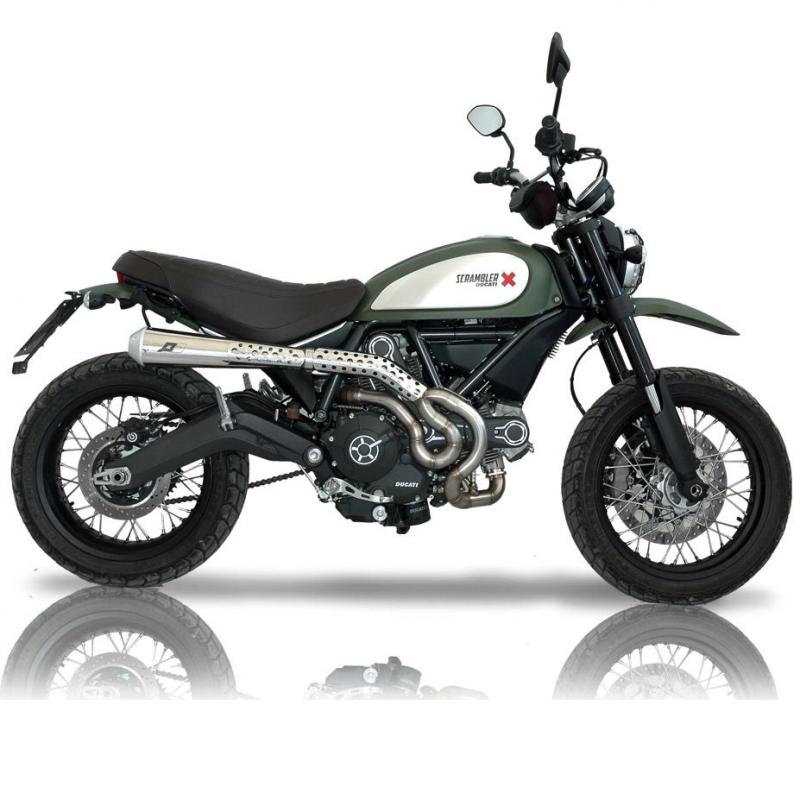 QD Exhaust Ducati Scrambler 800 MaXcone Trail Full System