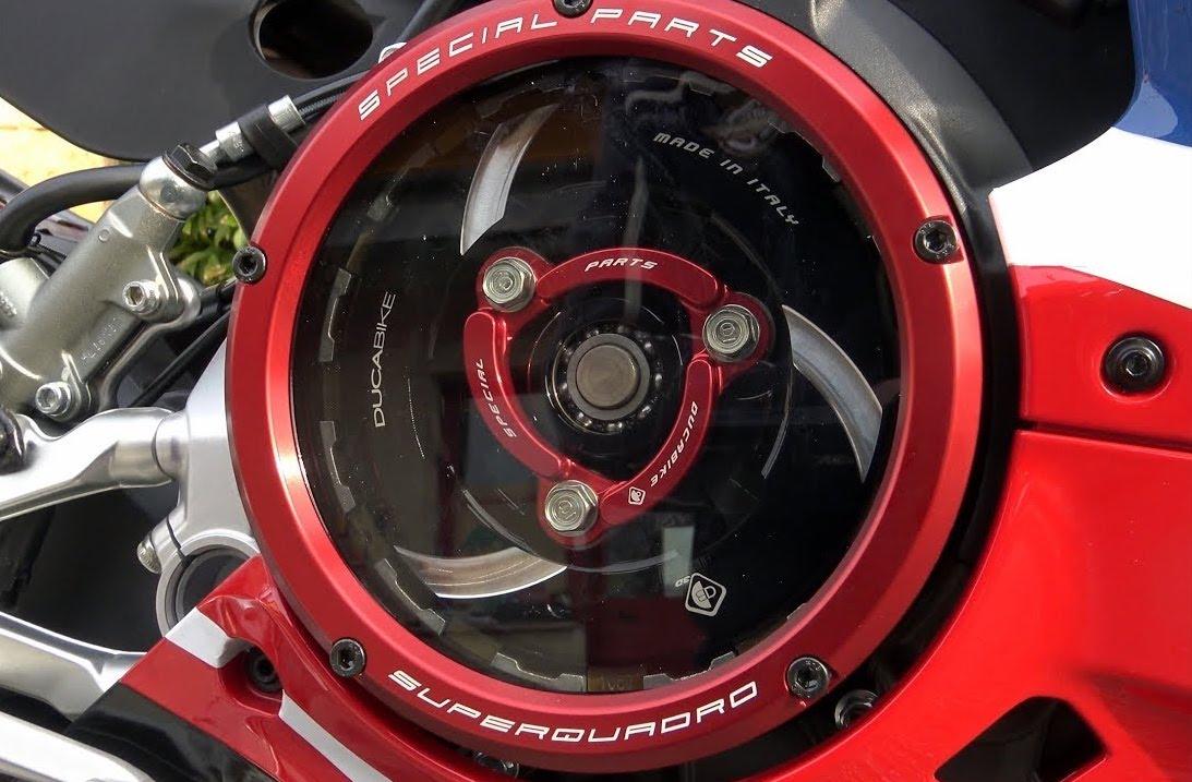 Ducabike Ducati Panigale V2 Clear Clutch Cover CC119902