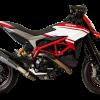 HP Corse Exhaust Ducati Hypermotard 821 939 EvoXtreme 310 Silencers