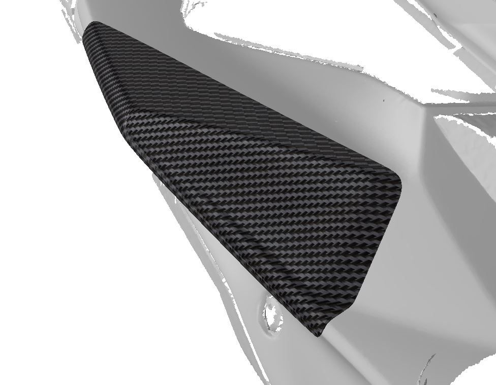 Strauss BMW S1000RR Carbon Fibre Tail Sliders 2015-2018