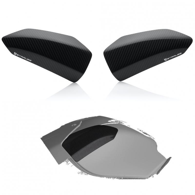 Strauss BMW S1000RR Carbon Fibre Tank Sliders 2015-2018