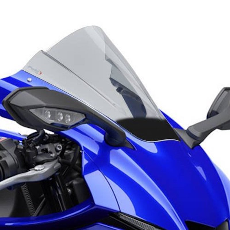 Puig Yamaha YZF R1 R1M Double Bubble Race Screen 2020+