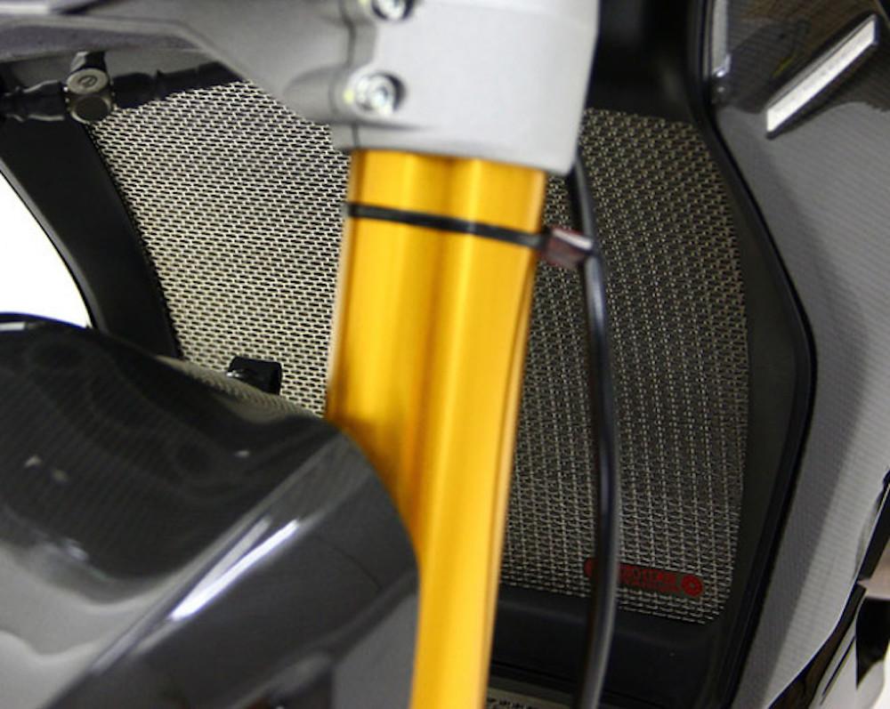 MotoCorse Ducati XDiavel Titanium Radiator Guard