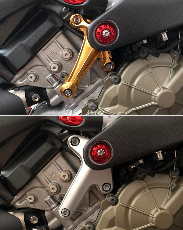 MotoCorse Ducati Panigale Streetfighter V4 Engine Support Bracket