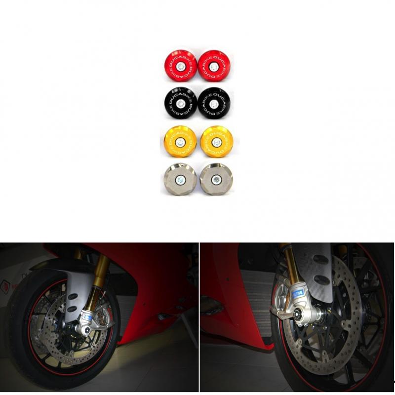 Ducabike Ducati Front Wheel Caps - Pair L&R