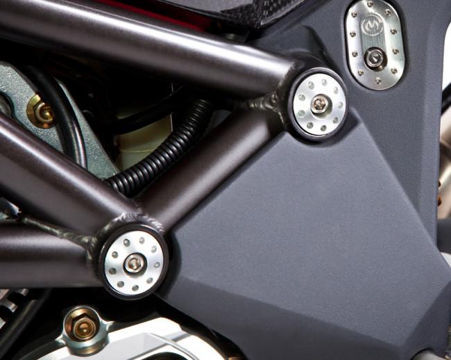 MotoCorse MV Agusta F4 / Brutale Frame Plug Caps