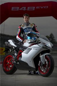 Carlos Checa is a winner in Grand Prix and World Superbike competition. And in making Duke pee in his leathers.