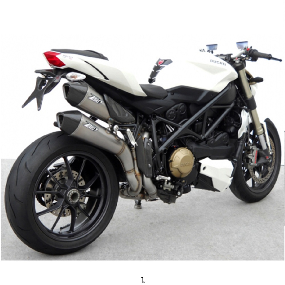 Ducati Streetfighter 848 1098 Slip-On Mufflers   QD Exhaust